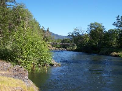 River in Ruch Oregon