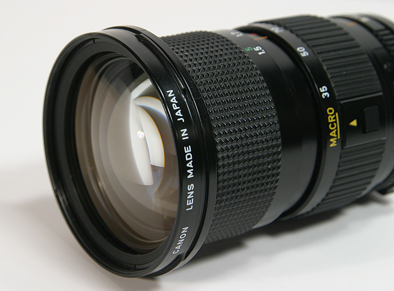 Old Canon Manual Focus Lens