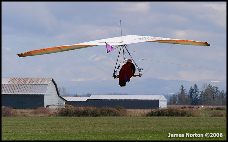Steve Seibel on Tow at Beck's Airfield