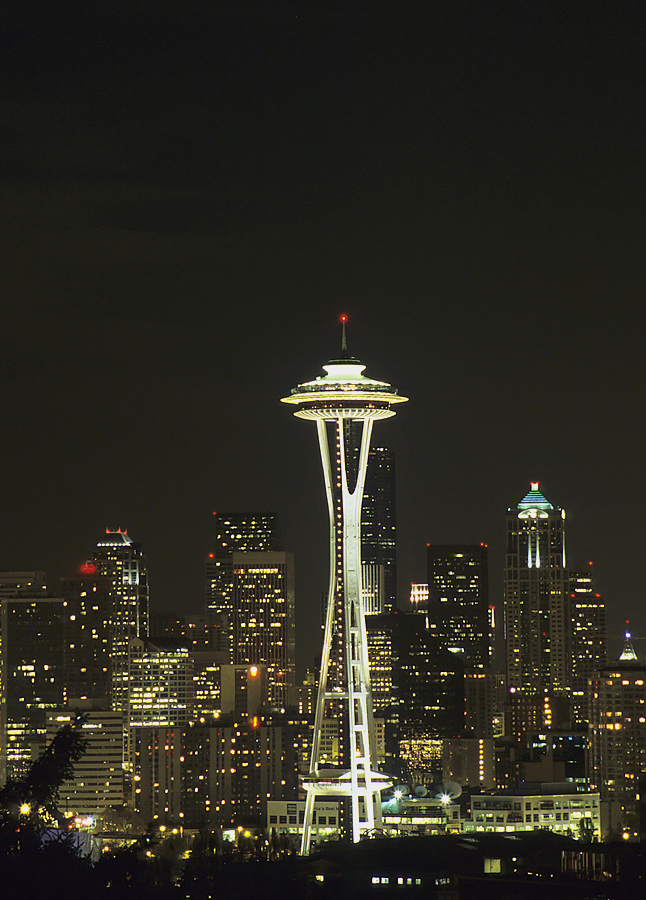 Seattle Cityscapes - My First Gallery Showing!!
